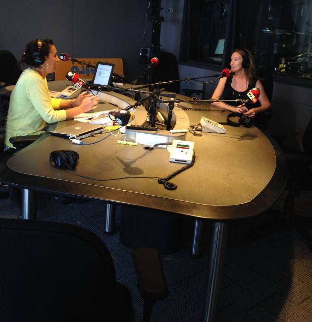 Suzanne's first interview about her Spiral Road journey with CBC radio host Mariel Borelli