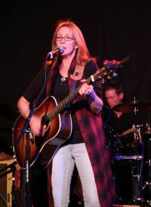 Suzanne Jarvie performing her CD release show at The Cameron House 11/2014